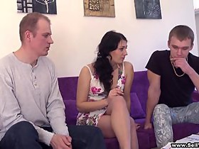 Splendid Martina, Lukas And Miroslav Have A Weird Thresome