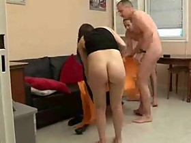 French married couple have a threesome