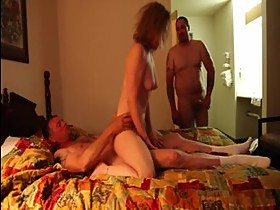Amature Wife fucked by two bikers in a cheap hotel